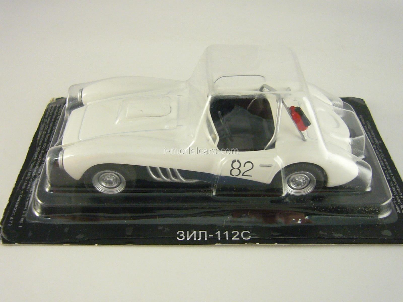 ZIL-112S white 1:43 DeAgostini Auto Legends USSR #119