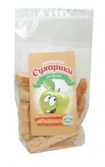 Сухарики пастильные яблочные, 60 гр. (Эко пастила)