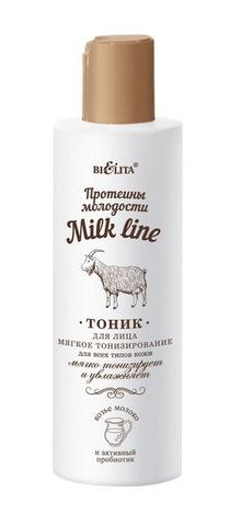 Белита Milk line Протеины молодости Тоник д/лица мягкое тонизирование 200мл