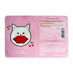 Восстанавливающая  маска для губ с экстрактом вишни Cherry Jelly Lips Patch Vitalizing