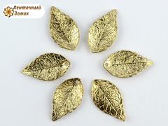 Декор металлический лист маленький