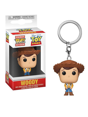 Брелок Funko Pocket POP! Keychain: Disney: Toy Story: Woody 37018-PDQ