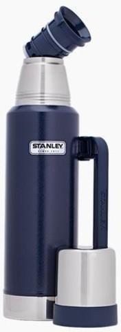 Термос Stanley Classic Vac Bottle Hertiage, 1.3л, темно-синий