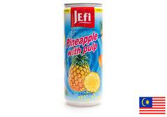 Напиток из ананаса с кусочками ананаса, 240мл