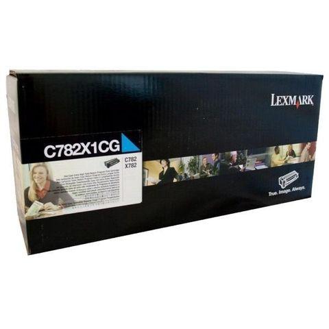 Картридж для принтеров Lexmark C782 синий (cyan). Ресурс 15000 стр (C782X1CG)
