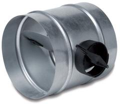 Дроссель-клапан SKR D200 с ручным управлением