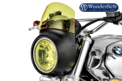 Передний обтекатель VINTAGE BMW R NineT черный