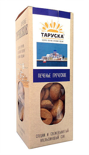 Печенье ГРЕЧЕСКОЕ Таруска 200 г
