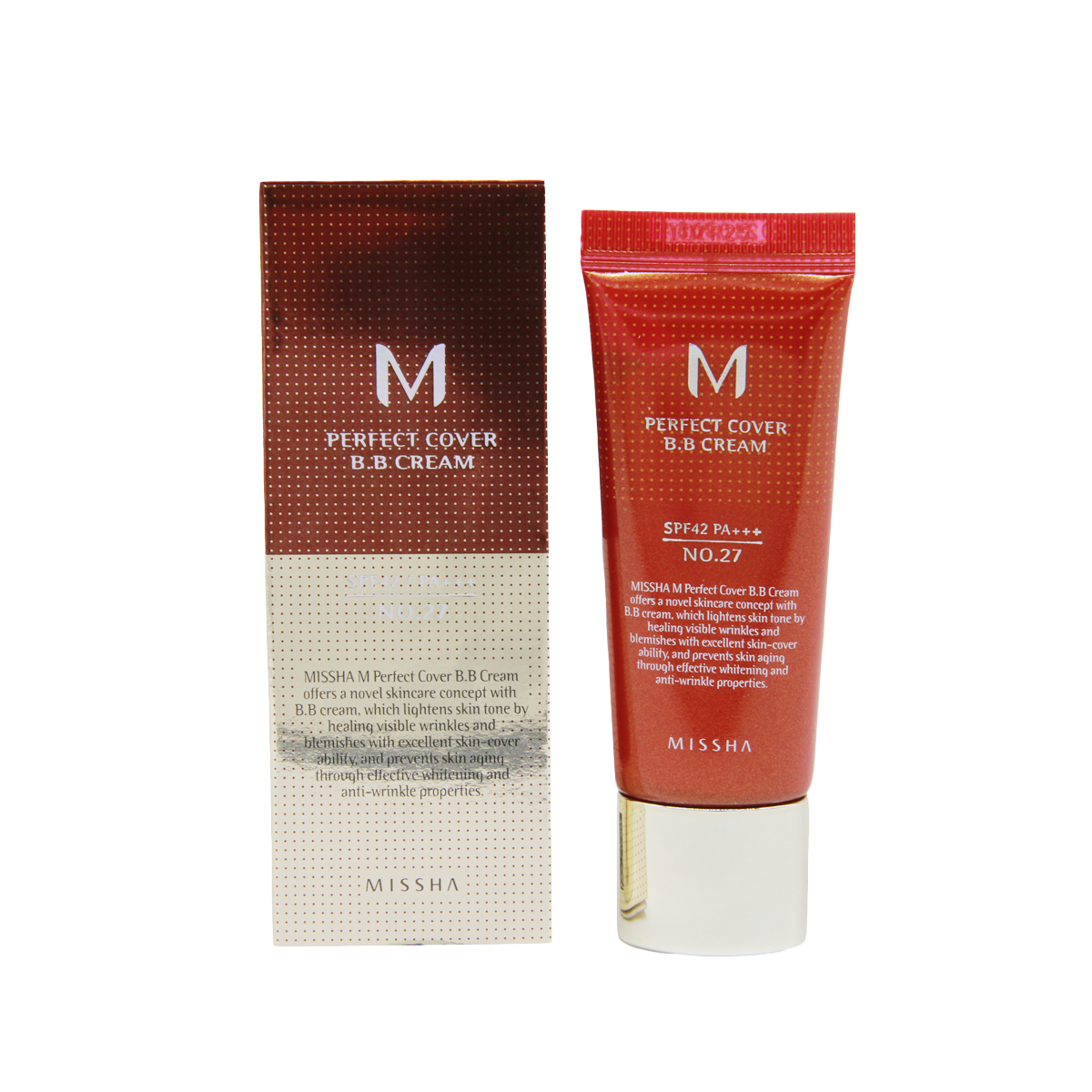 Декоративная косметика Тональный крем для лица M Perfect Cover BB Cream (No.27), 20 мл import_files_57_5780316461eb11e980fc3408042974b1_95fd1fa061ff11e980fc3408042974b1.png