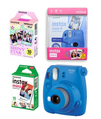 Фотокамера моментальной печати FUJIFILM instax mini 9 подарочный набор