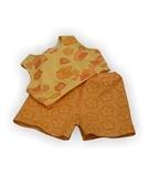 Летний костюмчик - Оранжевый. Одежда для кукол, пупсов и мягких игрушек.