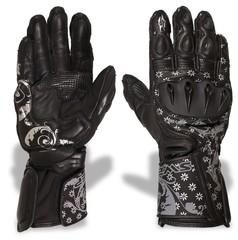 Мотоперчатки спортивные Sweep Queen of Speed, чёрный