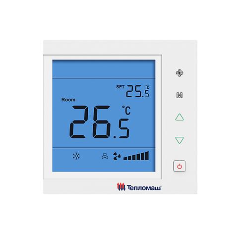 Пульт управления Тепломаш HL25 с электронным термостатом для канальных фанкойлов
