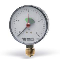 Манометр радиальный Watts F+R201 (1/2