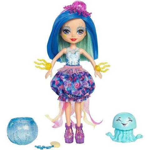 Кукла Энчантималс Джесса медуза с питомцами - Enchantimals, Mattel
