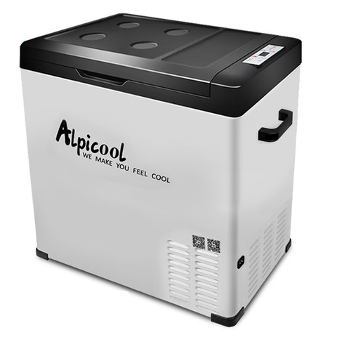 Компрессорный автохолодильник ALPICOOL C75 (75 л.) 12-24-220В