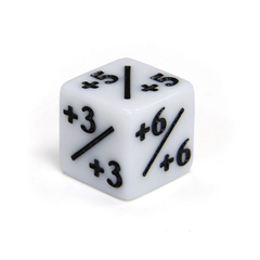 Кубик белый D6 Positive