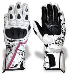 Мотоперчатки спортивные Sweep Queen of Speed, белый