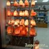 Солевая лампа Роза эффект солевых пещер