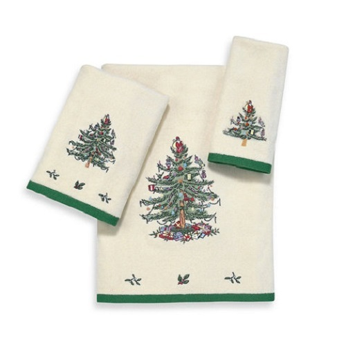 Полотенца Полотенце 41х76 Avanti Spode Christmas Tree кремовое elitnoe-polotentse-mahrovoe-spode-christmas-tree-ot-avanti-kanada.jpg