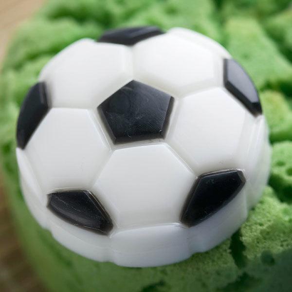 Пластиковая форма для мыла Футбольный мяч