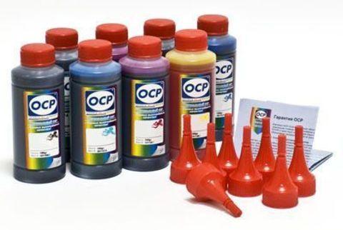 Комплект чернил OCP для Canon PIXMA Pro9000 Mark II (Pro 9000 Mark 2) - OCP BK797, C/М/Y122, CL/ML125, R122, G122. комплект 8 x 100 гр