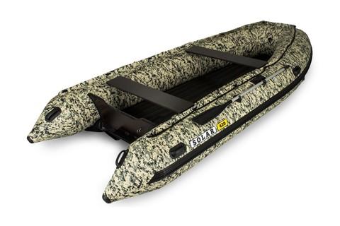 Лодка надувная моторная SOLAR 420 Jet тоннель