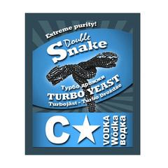 Спиртовые дрожжи DoubleSnake C-Star Turbo, 66 г
