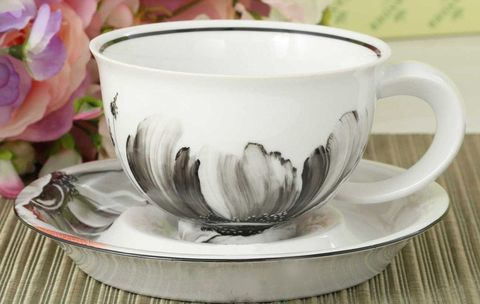 Чашка с блюдцем 350 мл Келт Leander