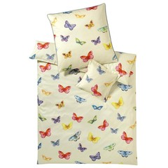 Элитная наволочка Butterfly ванильная от Elegante