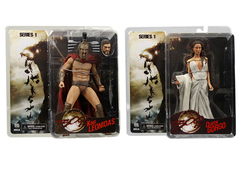 300 King Leonidas & Queen Gorgo Action Figures