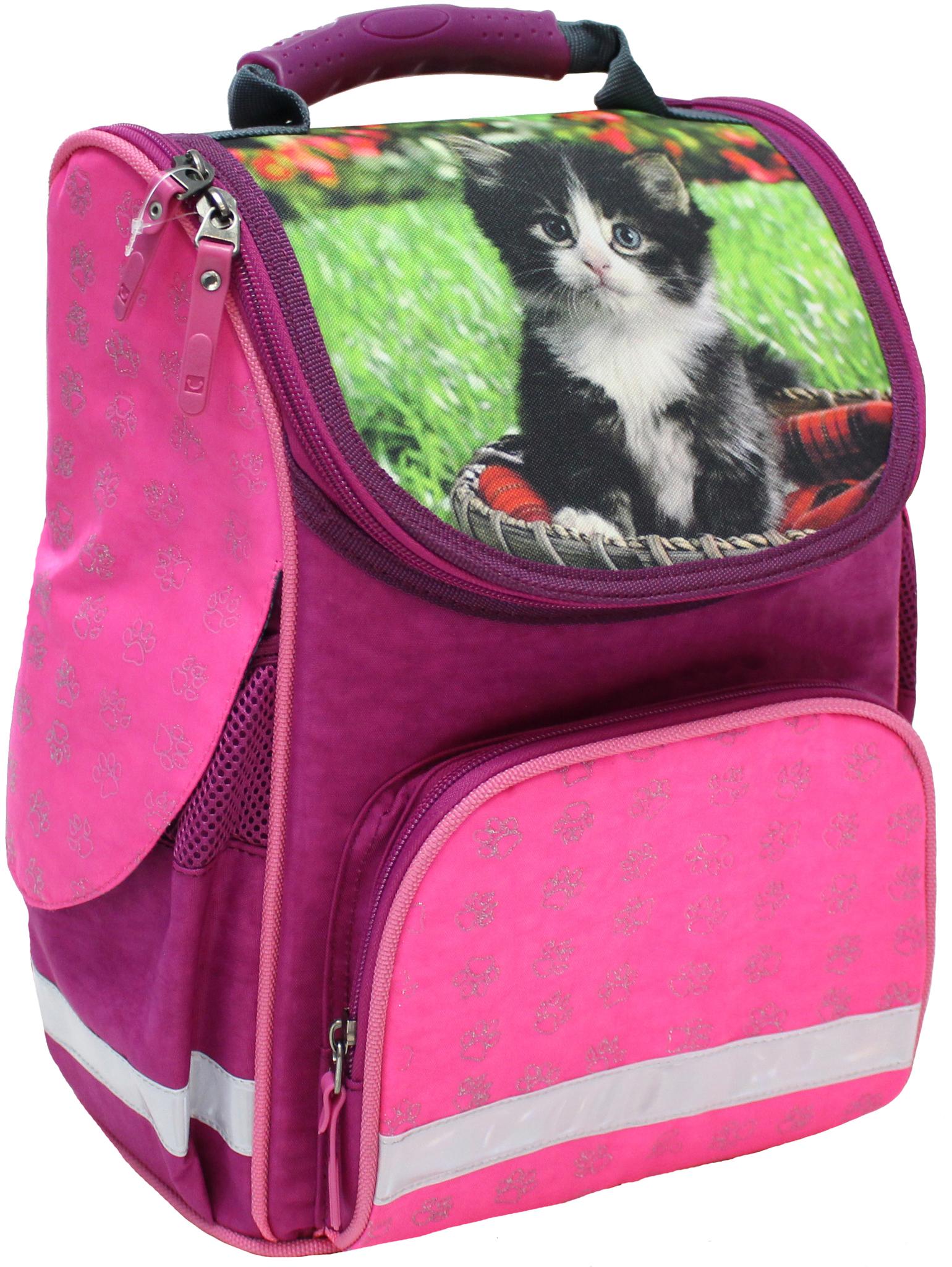 Школьные рюкзаки Рюкзак школьный каркасный Bagland Успех 12 л. 143 малина 59 д (00551702) IMG_4791.JPG