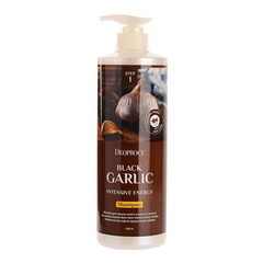 Deoproce Black Garlic Intensive Energy Shampoo - Шампунь для волос с экстрактом черного чеснока