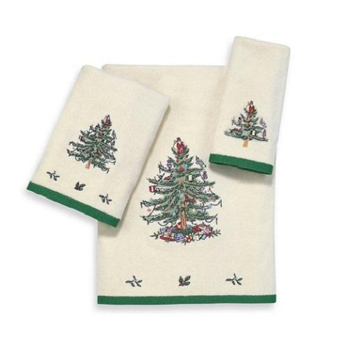 Полотенце 69х127 Avanti Spode Christmas Tree кремовое