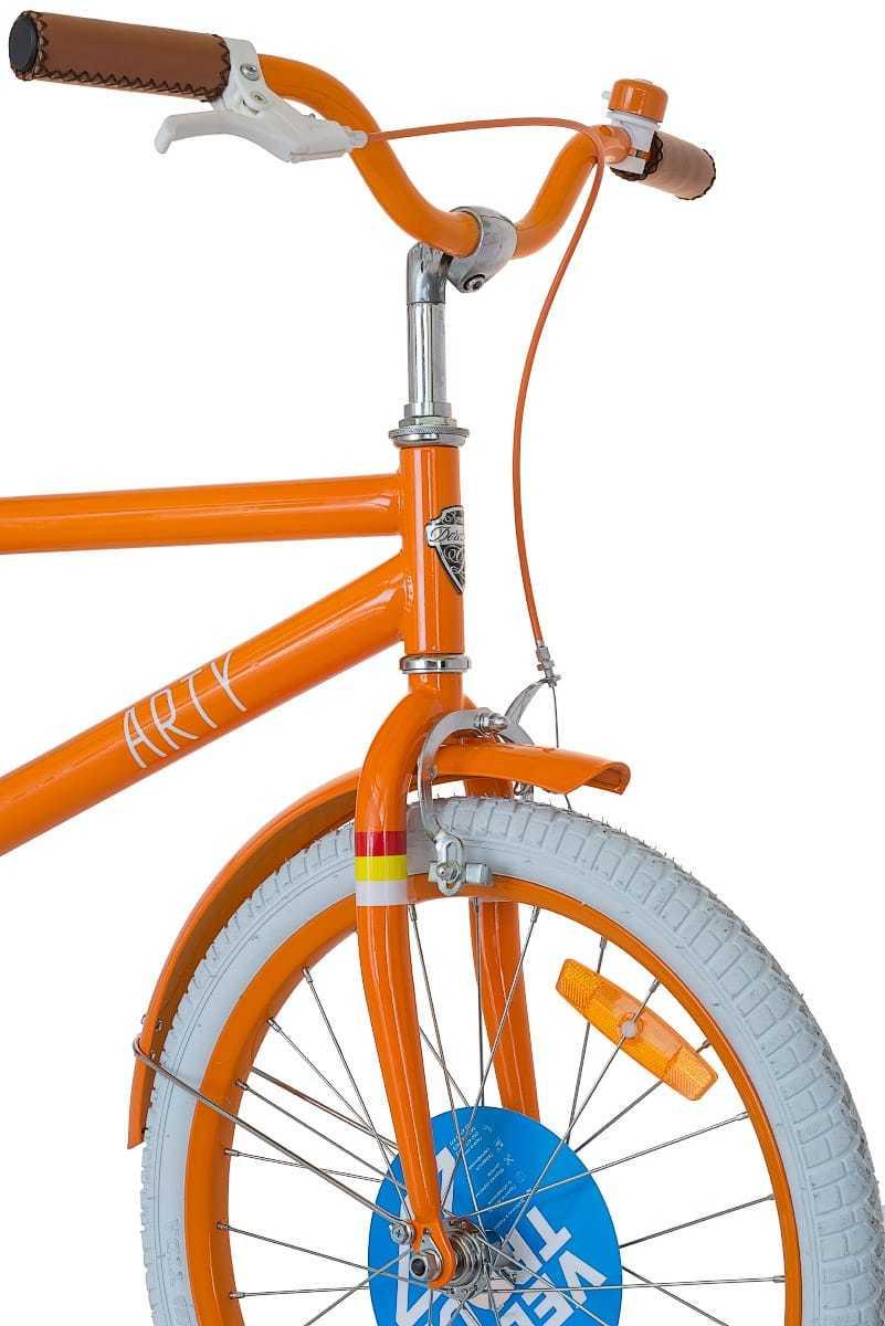 Велосипед Dorozhnik Arty 2017 - руль, вилка, передний тормоз, колесо