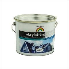 Краска в/э для фасада BECKERS AKRYLATFARG (EXPO FASADAKRYLAT) База А (Белый)