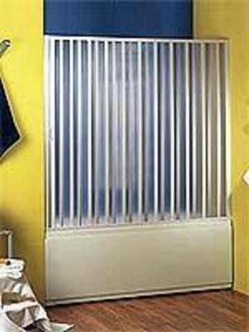 Шторка для ванн SIRIO с боковым профилем закрывания