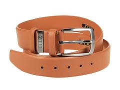 8245-15 ремень кожаный мужской, коричневый