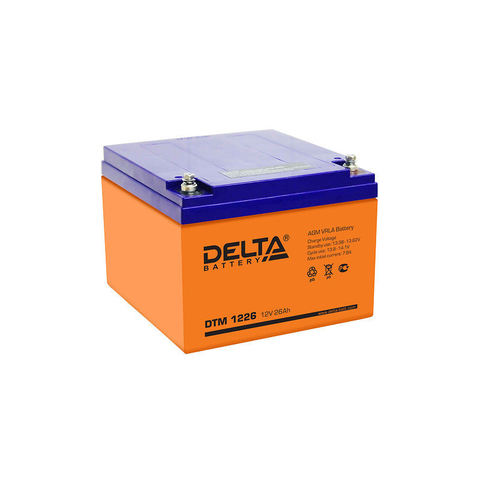 Аккумуляторные батареи Delta DTM