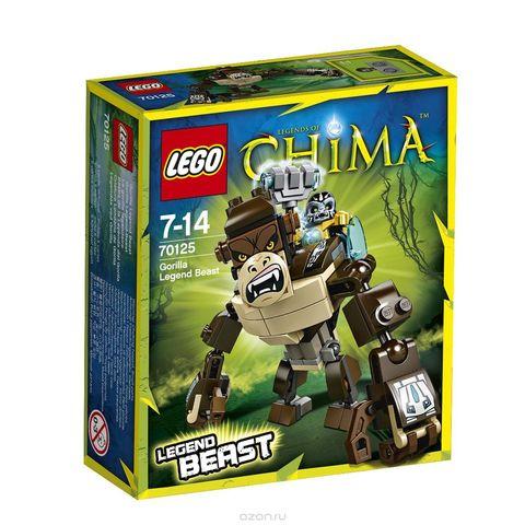 LEGO Chima: Легендарные звери: Горилла 70125 — Gorilla Legend Beast — Лего Чима