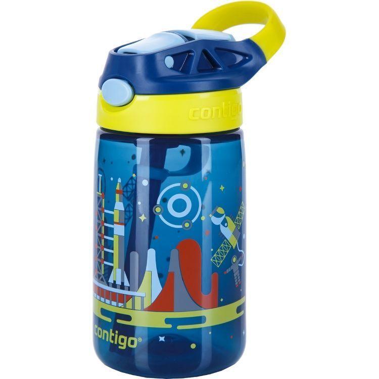 Бутылочка детская Contigo Gizmo Flip (0,42 литра), синяя