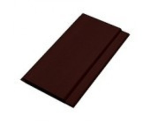 Вагонка ПВХ Темно-коричневый КЧ 500/300 0,1х3м