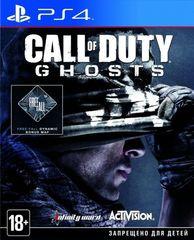 Sony PS4 Call of Duty: Ghosts (английская версия)