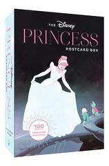 Набор открыток The Disney Princess Postcard Box: 100 Collectible Postcards
