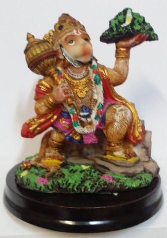 Статуэтка Хануман Царь обезьян - защитник от зла, полистоун 11 см