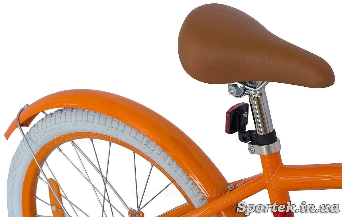 Велосипед Dorozhnik Arty 2017 - седло, крыло