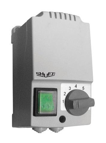Регулятор скорости Shuft SRE-E-3,0-T однофазный пятиступенчатый с термозащитой (в корпусе)