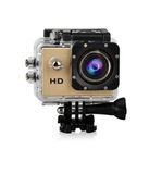 Экшн-камера JS4000 1080p Влагоустойчивая (Золотой)