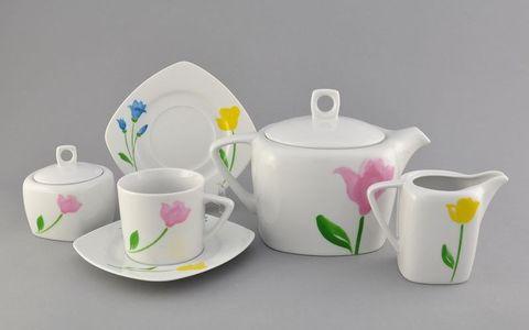 Сервиз чайный 15 предметов Бьянка Leander