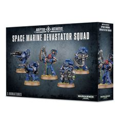 Space Marine Devastator Squad. Коробка